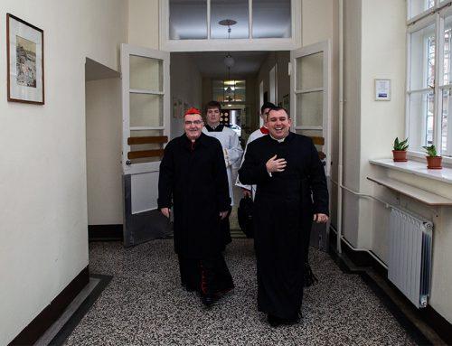 Rektor sjemeništa gost na HKM-u