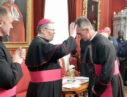 Rektor MSZ-a čestitao mons. Ćuriću na biskupskom imenovanju