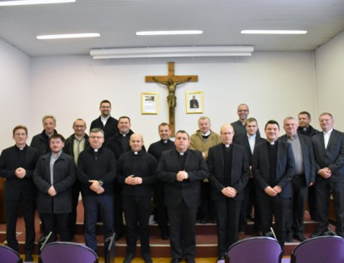 Susret župnika sjemeništaraca s odgojiteljima u Sjemeništu