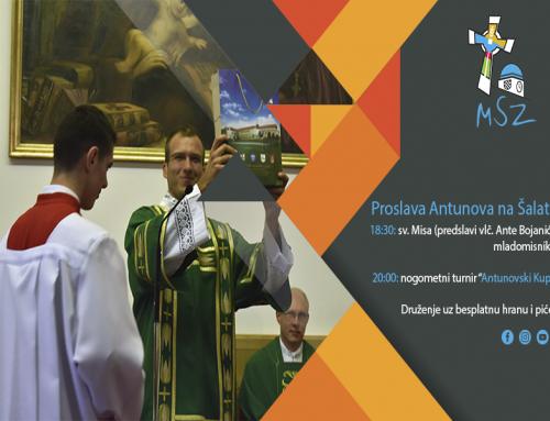 Najava: Proslava Antunova na Šalati
