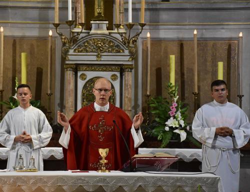 Vlč. Bužak predvodio sv. Misu Zaziva Duha Svetoga za TŠZ