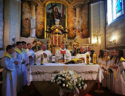 Proslava blagdana Kraljice krunice i Dana bolesnika u župi sv. Jelene Križarice u Zaboku