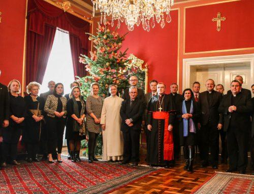 Rektor MSZ-a sudjelovao u predbožićnom susretu kardinala Bozanića s voditeljima institucija Zagrebačke nadbiskupije
