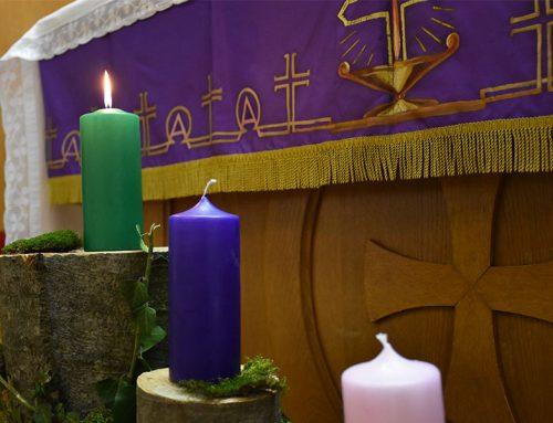 Blagoslov adventskog vijenca u MSZ-u