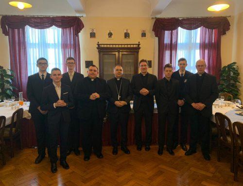 Varaždinski biskup pohodio sjemeništarce na Šalati