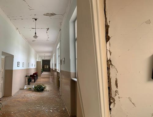 Potres oštetio kompleks Međubiskupijskog sjemeništa u Zagrebu