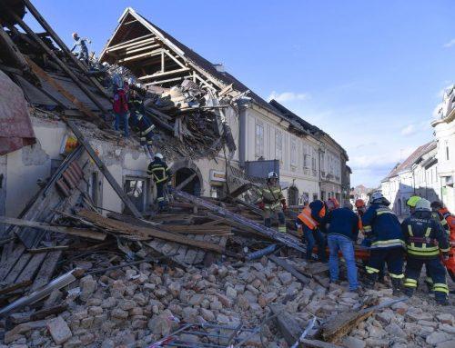 Hrvatski Caritas pomaže stradalima od potresa u Petrinji, Sisku i okolnim mjestima