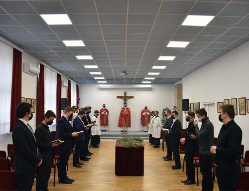Proslava Nedjelje Muke Gospodnje u šalatskom sjemeništu