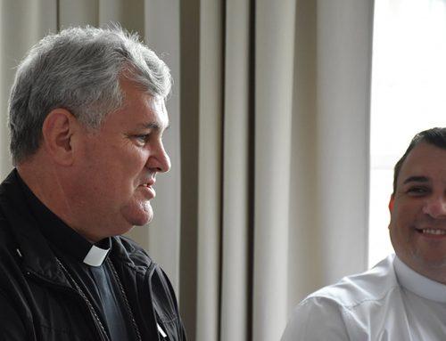 Rektor sjemeništa čestitao imendan mons. Košiću