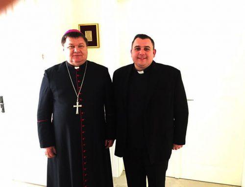 Rektor sjemeništa čestitao imendan mons. Huzjaku