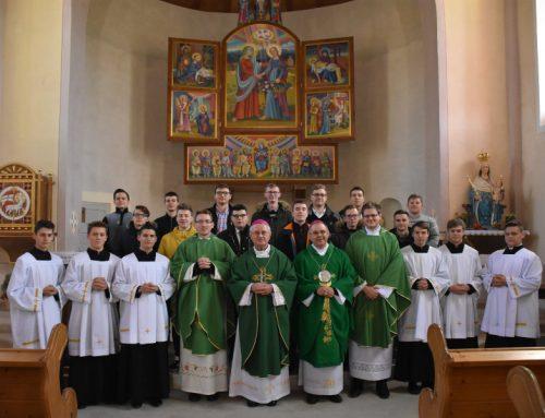 Varaždinski biskup Radoš održao godišnje duhovne vježbe šalatskim sjemeništarcima