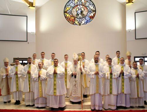 Rektor sa sjemeništarcima sudjelovao u slavlju đakonskog ređenja